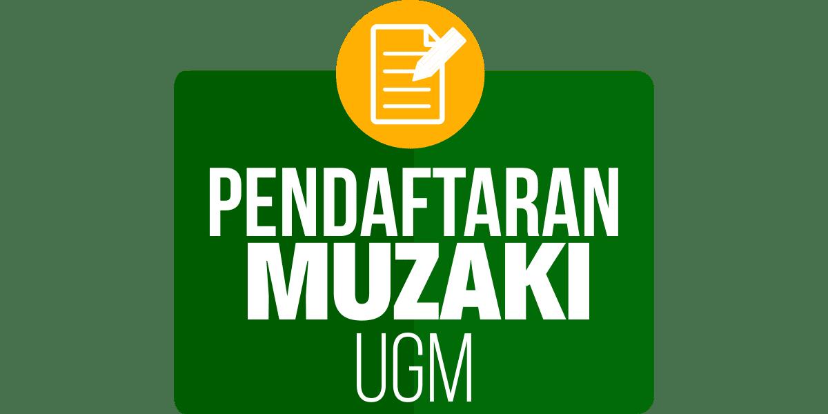 Pendaftaran Muzaki UGM