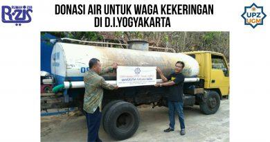 Donasi Air untuk Warga Kekeringan Tepus, Yogyakarta